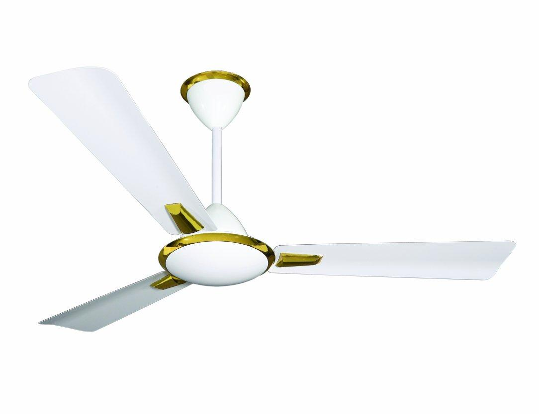 Buy Crompton Aura 48-inch Decorative High Speed Ceiling Fan (White ...